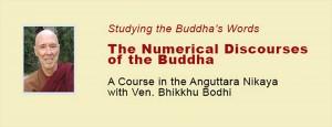 A Course in the Anguttara Nikaya with Ven. Bhikkhu Bodhi