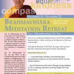 CYM Brahmavihāra  Meditation Retreat (11/19-25/17)