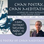 1 Day Chan Meditation Retreat with David Listen  Sat. 11_11_17
