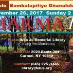 Mastering the way to peace and happiness in modern times (Woo Ju Library: 11/26/2017)