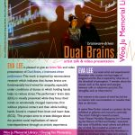 Dual Brains with Eva Lee 5/20 at 2 PM