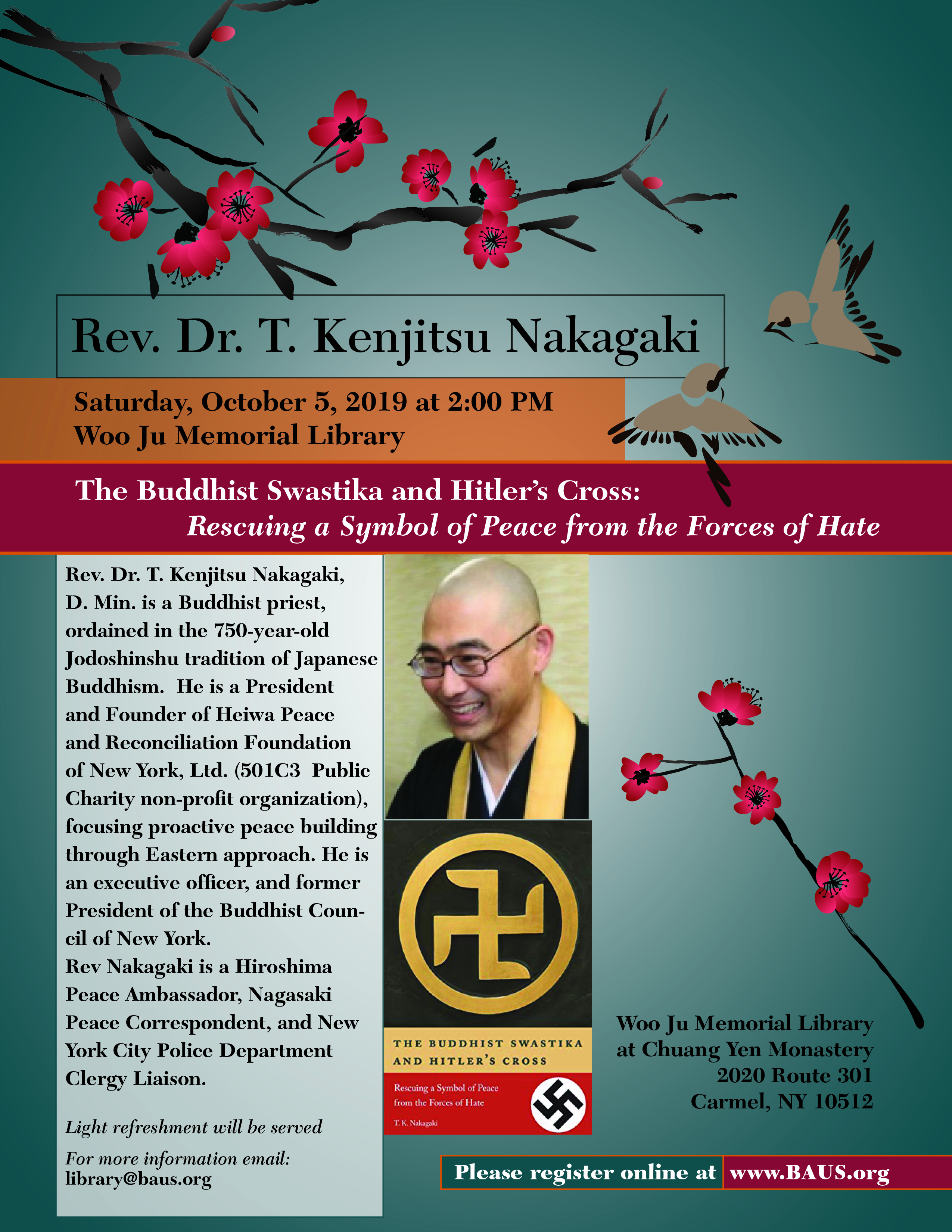 Rev  Dr  T  Kenjitsu Nakagaki presents: The Buddhist