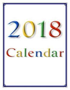 2018 莊嚴寺行事曆_CYM Calendar